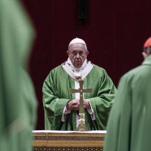 Папа Римский в проповеди выразил обеспокоенность в связи с обострением на востоке Украины