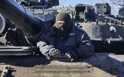 На Донетчине разведка обнаружила колонну из двух десятков танков боевиков