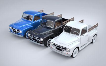 Эстонский стартап представил крошечный электрический пикап: его вид вдохновленный авто 1950-х годов