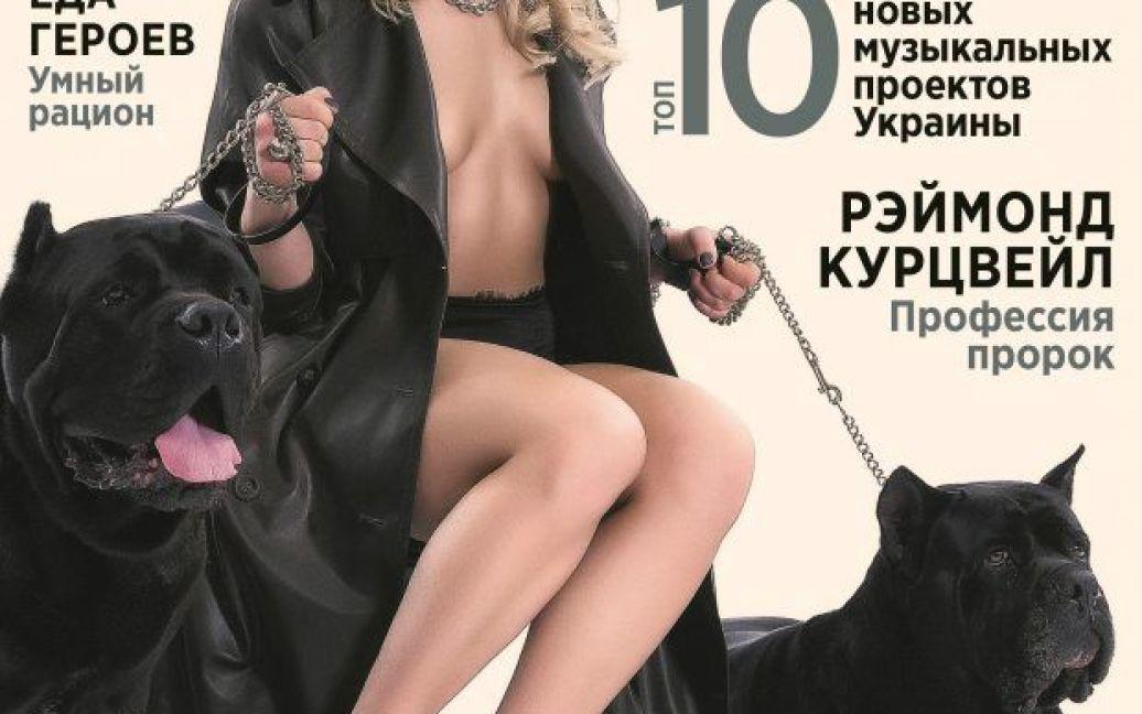 Ольга Харлан для травневого номеру XXL / © XXL