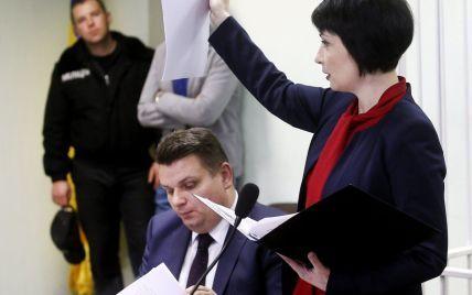 Допрос Лукаш в ГПУ продлился более двух часов и завершился сменой подозрения