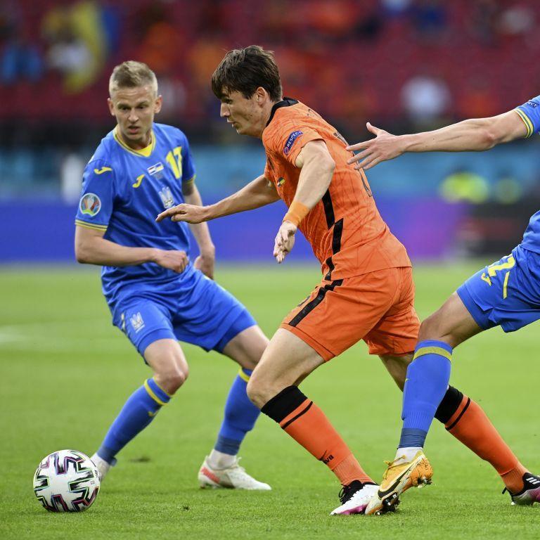 Евро-2020: матч сборной Украины против Нидерландов переписал историю футбола
