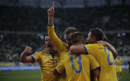 Збірна України битиметься за Євро-2016 із словенцями