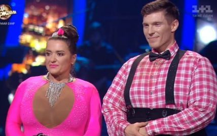 """Могилевська стрибнула із Кузьменком з мосту та """"розповніла"""" заради номеру у """"Танцях з зірками"""""""