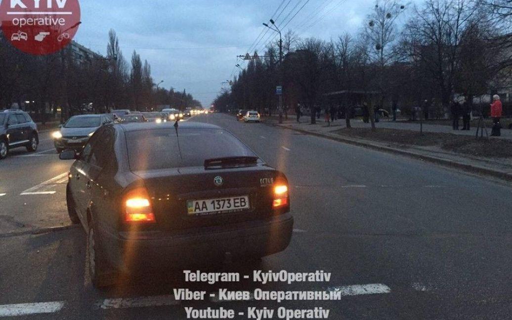 © Facebook/Киев Оперативный