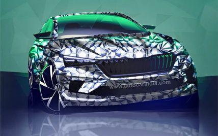 Skoda вперше показала фото нового дешевого седан