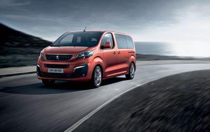 В Украину едет новый минивэн Peugeot Traveller