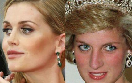 Китти Спенсер отказалась от тиары принцессы Дианы и повторила свадебный образ своей матери