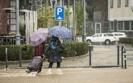 Две провинции в Бельгии объявили зоной стихийного бедствия