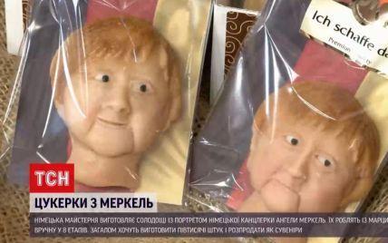 Канцлерка із марципану: німецька майстерня виготовляє солодощі із портретом Ангели Меркель