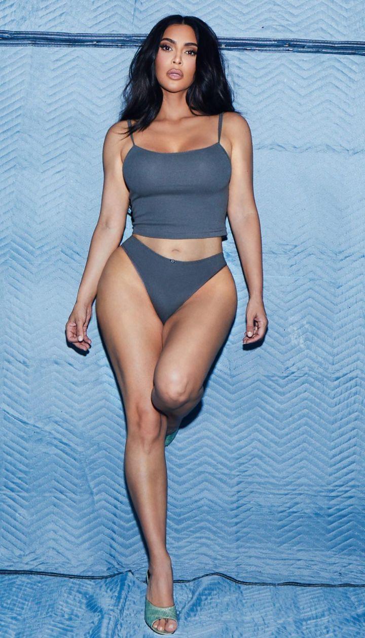 Ким Кардашьян в рекламе SKIMS / © Instagram Кім Кардашян