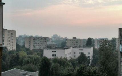 Чем дышит Киев после пожаров. Инфографика
