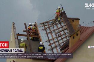 Новости мира: сорванные крыши и травмированные люди - Польшей пронеслись сразу несколько торнадо