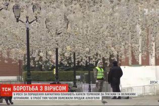 Радикальные меры: до 7 лет за решеткой, или штраф миллион рублей за нарушение карантина в России