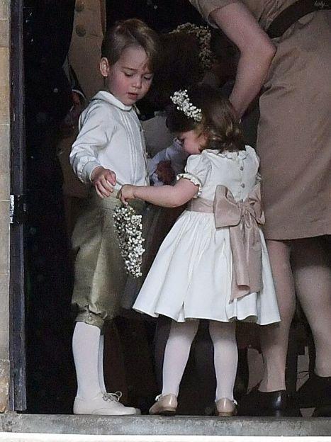 Принц Джордж і принцеса Шарлотта на весіллі Піппи Міддлтон / © Getty Images