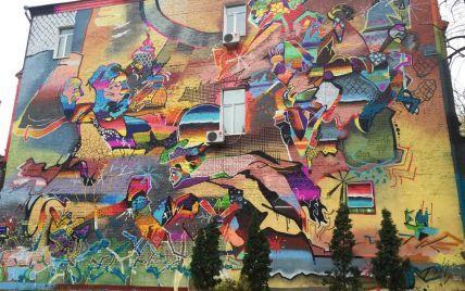 В Киеве появился новый зрелищный мурал, посвященный Ярославу Мудрому