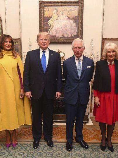 Меланія і Дональд Трамп, принц Чарльз і герцогиня Камілла / © Associated Press