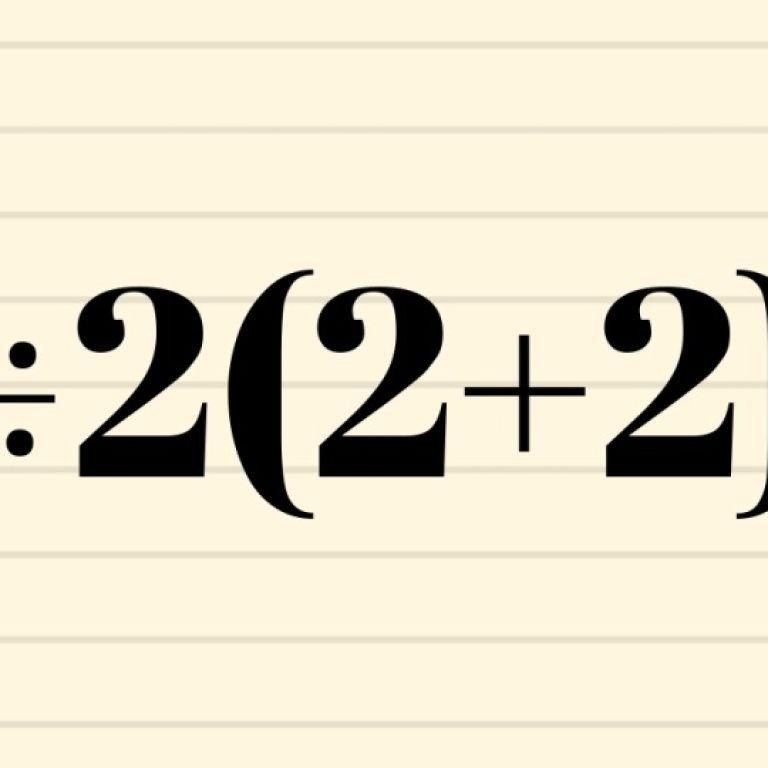 16 или 1: математическая головоломка стала вирусной в Сети