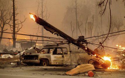 Калифорния горит: огонь приблизился к популярному среди туристов озера Тахо