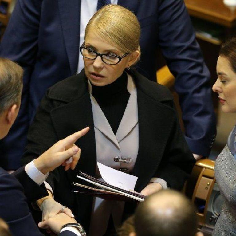"""Тимошенко посунула Порошенка з другого місця у рейтингу симпатій виборців - """"Рейтинг"""""""