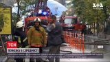 Новости Украины: неподалеку Майдана Независимости горела крыша 5-этажки