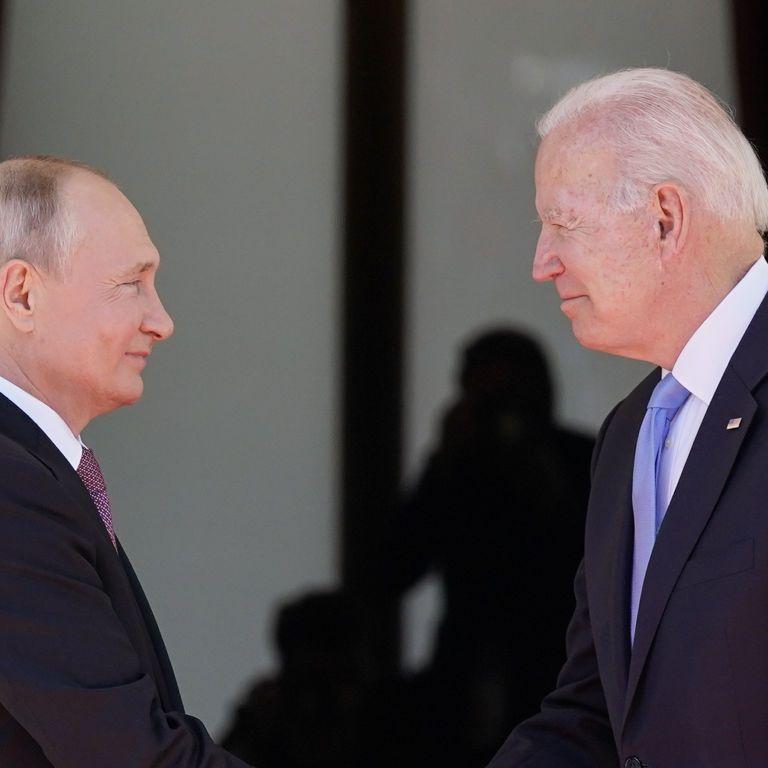 В Женеве Путин два часа разговаривал с Байденом с глазу на глаз