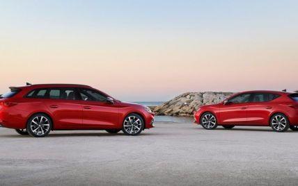 В Україні стартував продаж оновленого SEAT Leon у двох кузовах: оголошені ціни