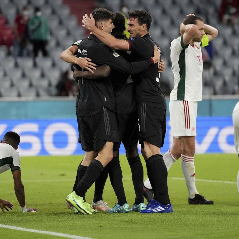 Німеччина врятувалася в матчі з Угорщиною та вийшла до плейоф Євро-2020