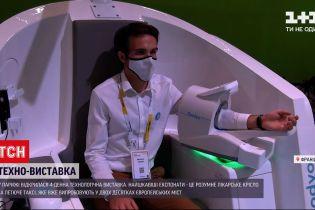 Новости мира: на парижской выставке представлено медицинское кресло, определяющее состояние здоровья
