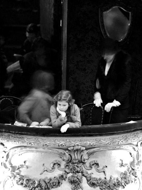 Принцесса Елизавета в ложе герцогини на пантомиме / ©