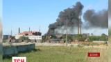 В Эстонии ядовитый дым от пожара на химзаводе угрожает здоровью жителей города Силламяэ