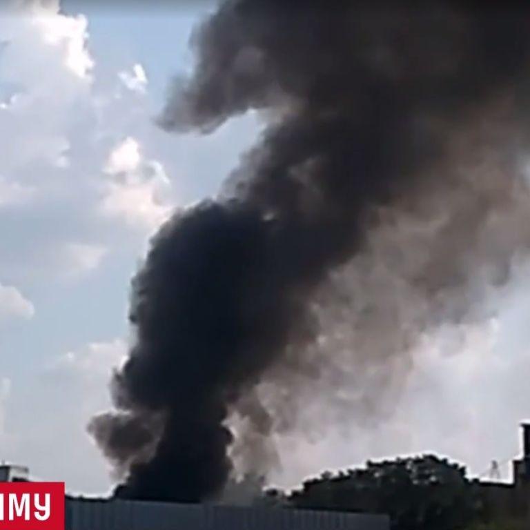 Ілюзія великої пожежі: стовп диму над Святошинським районом наполохав киян