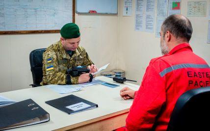 До України намагалася в'їхати група російських моряків за документами від окупантів
