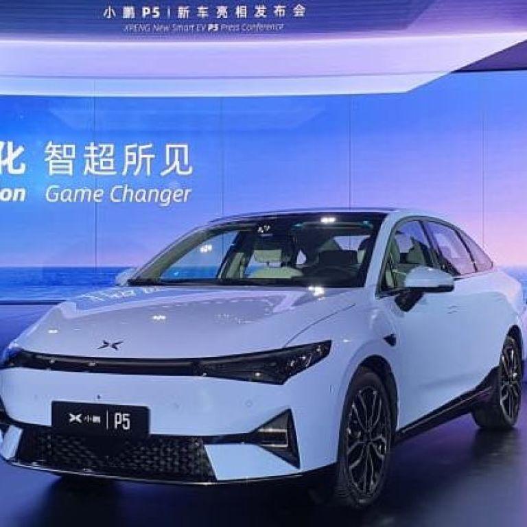 Китайцы представили стильного конкурента для Tesla, но значительно дешевле