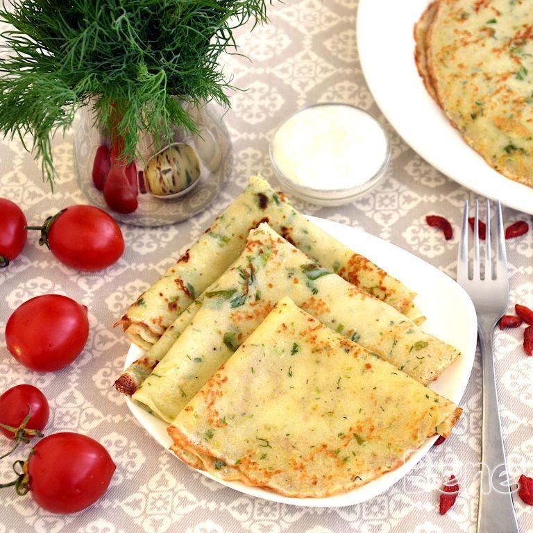 Рецепт кабачковых блинов