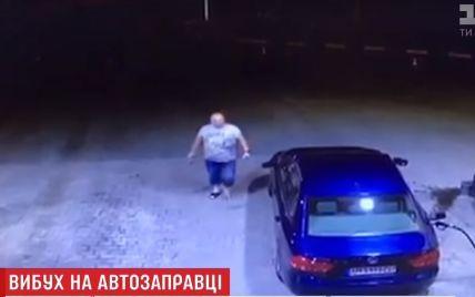 Полиция нашла водителя, который спровоцировал пожар на АЗС возле Киева и сбежал