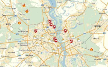 Содержание сернистого газа в воздухе над Киевом значительно превышает нормы