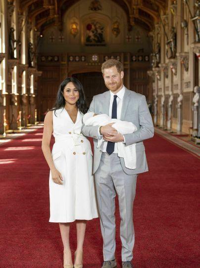 Сын Меган и Гарри - Арчи / © Associated Press