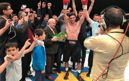 Український боксер нокаутував досвідченого суперника вже у другому раунді