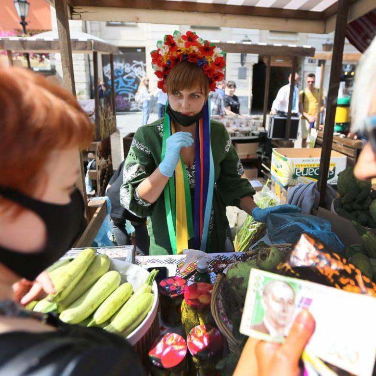 У Києві запрацювали продуктові ярмарки