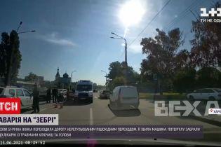 Новини України: у Харкові 49-річний водій легковика збив літню жінку на пішохідному переході