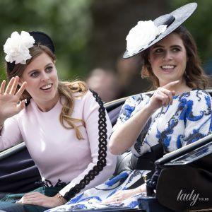 Принцесса Евгения показала трогательное фото беременной сестры Беатрис