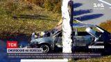 Новини України: у Кам'янському охоплений полум`ям автомобіль ледь не спричинив велику пожежу