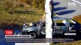 Новости Украины: в Каменском охваченный пламенем автомобиль едва не вызвал крупный пожар