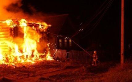 В России во время пожара заживо сгорела большая семья с детьми