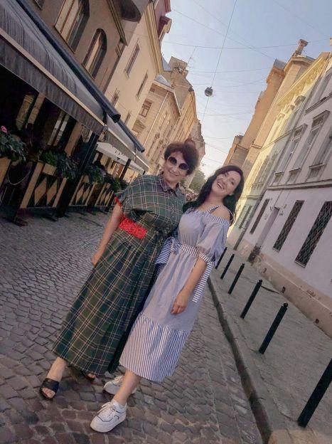 Соломія Вітвіцька з мамою / © Instagram Соломии Витвицкой