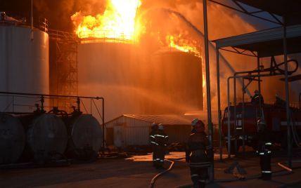 Масштабный пожар и взрыв на нефтебазе под Васильковом. Хронология событий