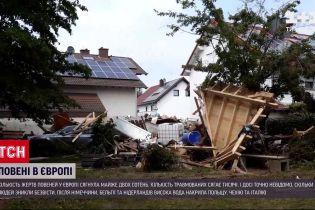 Новости мира: европейские страны считают убытки от наводнений