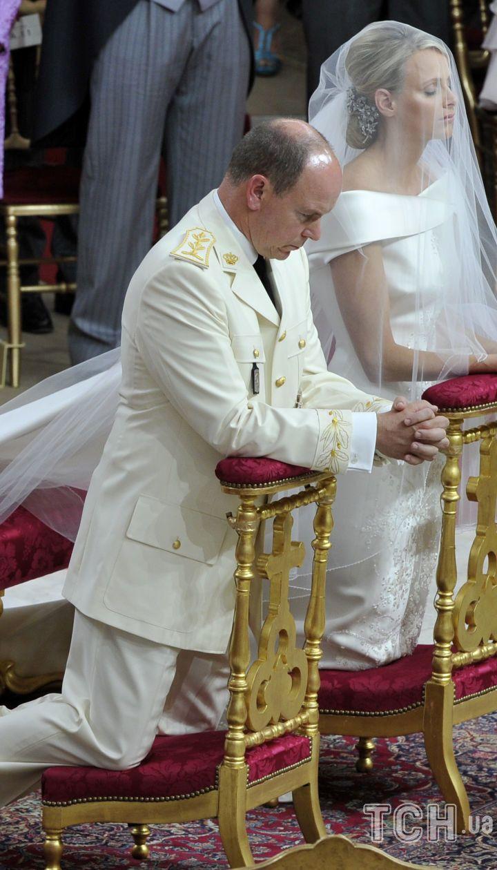 Княгиня Шарлін і князь Альбер II / © Associated Press