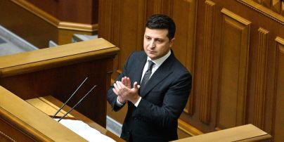 Зеленский внес в Верховную Раду проект закона о большом гербе Украины